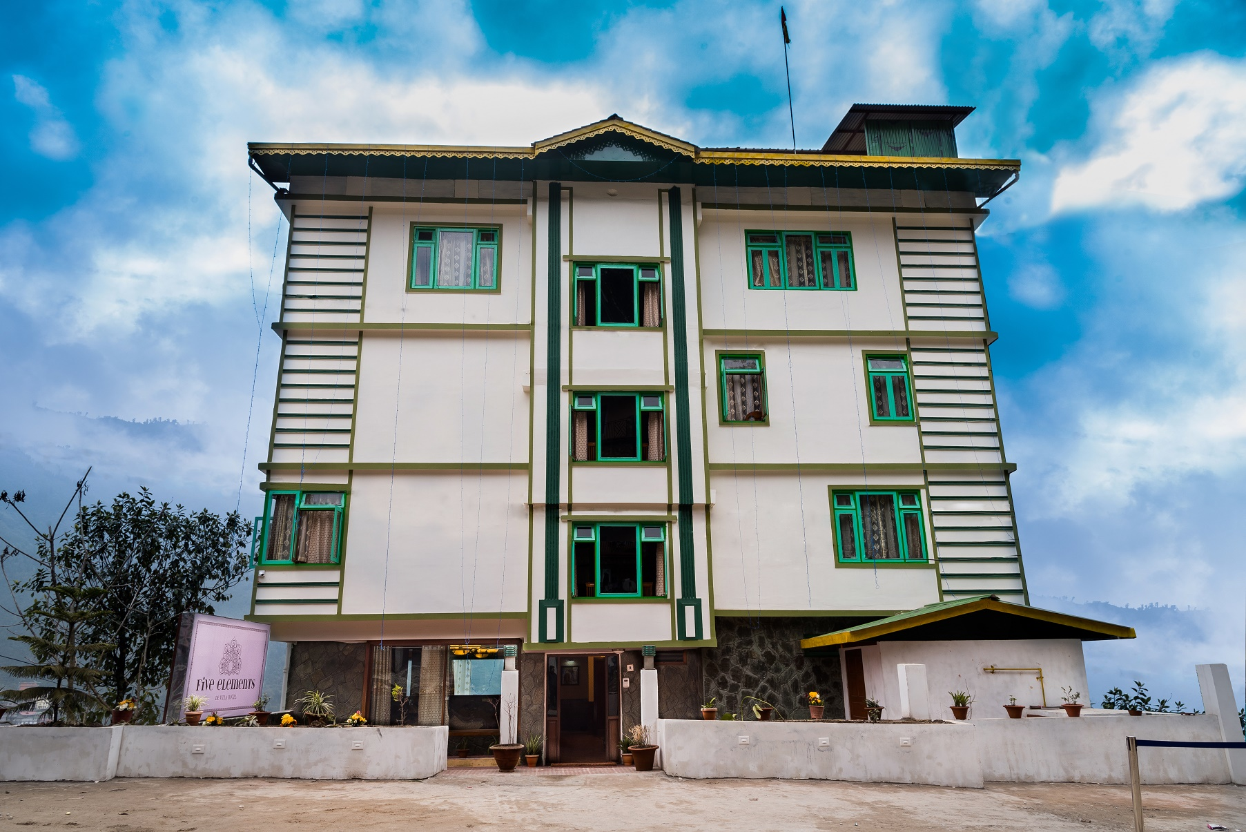 Five Elements Hotel, Gangtok, Sikkim, India, Book best 2 Star Hotel in Gangtok online directly from our website and get discount