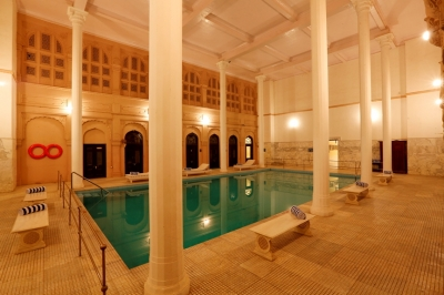The Lallgarh Palace Hotel, Bikaner, Rajasthan, India